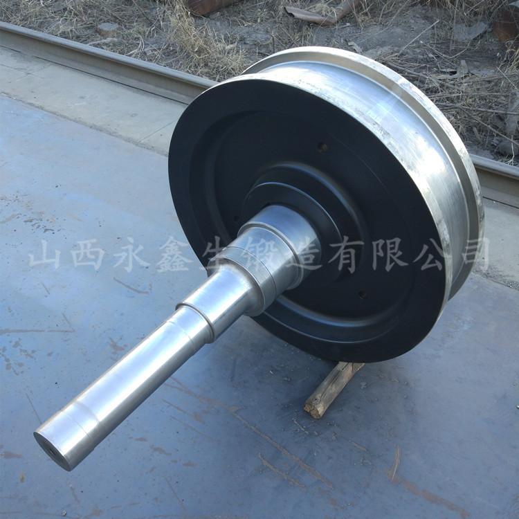 起重机车轮组-车轮锻件